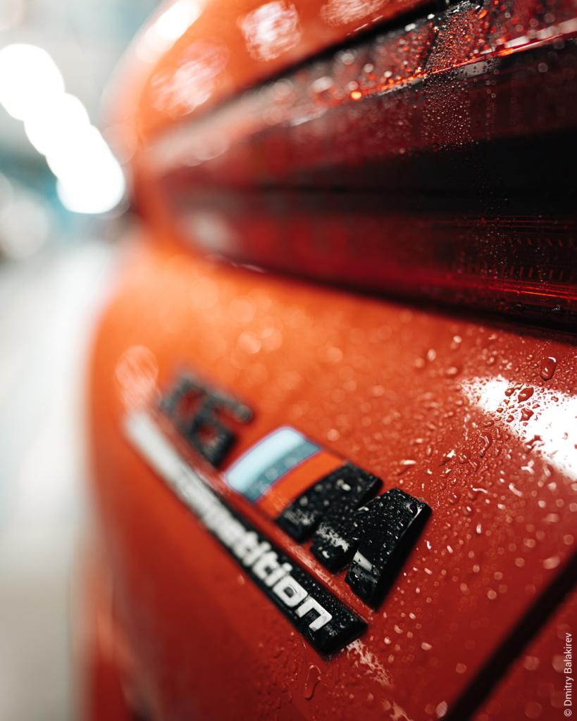 Красная BMW X6M F96 2020